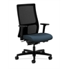 HON Ignition Mid-Back Mesh Task Chair | Synchro-Tilt, Back Angle | Adjustable Arms | Cerulean Fabric