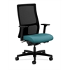 HON Ignition Mid-Back Mesh Task Chair | Synchro-Tilt, Back Angle | Adjustable Arms | Glacier Fabric