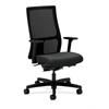 HON Ignition Mid-Back Mesh Task Chair | Synchro-Tilt, Back Angle | Adjustable Arms | Iron Fabric