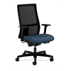 HON Ignition Mid-Back Mesh Task Chair | Synchro-Tilt, Back Angle | Adjustable Arms | Jet Fabric