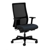 HON Ignition Mid-Back Mesh Task Chair | Synchro-Tilt, Back Angle | Adjustable Arms | Navy Fabric