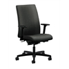 HON Ignition Mid-Back Task Chair | Synchro-Tilt, Back Angle | Adjustable Arms | Gray Fabric