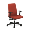 Ignition Mid-Back Task Chair | Synchro-Tilt, Back Angle | Adjustable Arms | Poppy Fabric