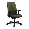 HON Ignition Mid-Back Task Chair | Synchro-Tilt, Back Angle | Adjustable Arms | Olivine Fabric