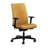 HON Ignition Mid-Back Task Chair | Synchro-Tilt, Back Angle | Adjustable Arms | Mustard Fabric
