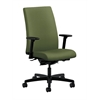 HON Ignition Mid-Back Task Chair | Synchro-Tilt, Back Angle | Adjustable Arms | Clover Fabric