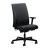 HON Ignition Mid-Back Task Chair | Synchro-Tilt, Back Angle | Adjustable Arms | Charcoal Fabric