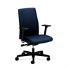 HON Ignition Mid-Back Task Chair | Synchro-Tilt, Back Angle | Adjustable Arms | Mariner Fabric