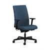 HON Ignition Mid-Back Task Chair | Synchro-Tilt, Back Angle | Adjustable Arms | Jet Fabric