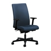 HON Ignition Mid-Back Task Chair | Synchro-Tilt, Back Angle | Adjustable Arms | Ocean Fabric