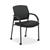 HON Lota Multi-Purpose Side Chair | Fixed Loop Arms | Black