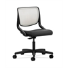 HON Motivate Task Chair | Fog ilira-Stretch Back | Iron Ore Fabric