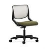 HON Motivate Task Chair | Fog ilira-Stretch Back | Olivine Fabric