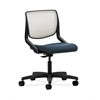HON Motivate Task Chair | Fog ilira-Stretch Back | Cerulean Fabric
