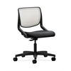 HON Motivate Task Chair | Fog ilira-Stretch Back | Onyx Fabric