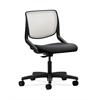 HON Motivate Task Chair | Fog ilira-Stretch Back | Onyx Fabric