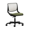 HON Motivate Task Chair | Fog ilira-Stretch Back | Clover Fabric