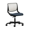HON Motivate Task Chair | Fog ilira-Stretch Back | Jet Fabric