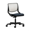 HON Motivate Task Chair | Fog ilira-Stretch Back | Navy Fabric