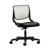 HON Motivate Task Chair | Fog ilira-Stretch Back | Black Fabric