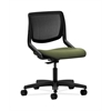 HON Motivate Task Chair | Black ilira-Stretch Back | Clover Fabric