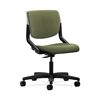 HON Motivate Task Chair | Upholstered Back | Platinum Shell | Clover Fabric