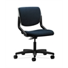 HON Motivate Task Chair | Upholstered Back | Platinum Shell | Mariner Fabric