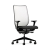 HON Nucleus Task Chair | Fog ilira-Stretch Back | Synchro-Tilt, Seat Glide | Adjustable Arms | Onyx Fabric
