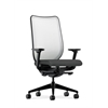 HON Nucleus Task Chair | Fog ilira-Stretch Back | Synchro-Tilt, Seat Glide | Adjustable Arms | Iron Ore Fabric