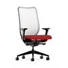 HON Nucleus Task Chair | Fog ilira-Stretch Back | Synchro-Tilt, Seat Glide | Adjustable Arms | Tomato Fabric