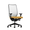 HON Nucleus Task Chair | Fog ilira-Stretch Back | Synchro-Tilt, Seat Glide | Adjustable Arms | Mustard Fabric
