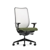 Nucleus Task Chair | Fog ilira-Stretch Back | Synchro-Tilt, Seat Glide | Adjustable Arms | Clover Fabric