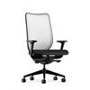 HON Nucleus Task Chair   Fog ilira-Stretch Back   Synchro-Tilt, Seat Glide   Adjustable Arms   Black Fabric