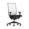 HON Nucleus Task Chair | Fog ilira-Stretch Back | Synchro-Tilt, Seat Glide | Adjustable Arms | Navy Fabric