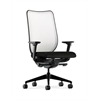 HON Nucleus Task Chair | Fog ilira-Stretch Back | Synchro-Tilt, Seat Glide | Adjustable Arms | Black Fabric