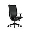 HON Nucleus Task Chair   Black ilira-Stretch Back   Synchro-Tilt, Seat Glide   Adjustable Arms   Black Fabric