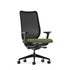 Nucleus Task Chair | Black ilira-Stretch Back | Synchro-Tilt, Seat Glide | Adjustable Arms | Clover Fabric