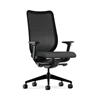 HON Nucleus Task Chair | Black ilira-Stretch Back | Synchro-Tilt, Seat Glide | Adjustable Arms | Carbon Fabric