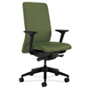 HON Nucleus Task Chair | Upholstered Back | Synchro-Tilt, Seat Glide | Adjustable Arms | Clover Fabric