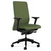 HON Nucleus Task Chair   Upholstered Back   Synchro-Tilt, Seat Glide   Adjustable Arms   Clover Fabric