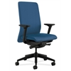 HON Nucleus Task Chair | Upholstered Back | Synchro-Tilt, Seat Glide | Adjustable Arms | Regatta Fabric