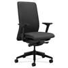 HON Nucleus Task Chair | Upholstered Back | Synchro-Tilt, Seat Glide | Adjustable Arms | Charcoal Fabric