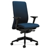 HON Nucleus Task Chair | Upholstered Back | Synchro-Tilt, Seat Glide | Adjustable Arms | Mariner Fabric