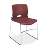 HON Olson High-Density Stacking Chair | Mulberry Shell