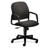 Solutions Seating High-Back Chair | Center-Tilt | Fixed Arms | Gray Fabric