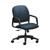 HON Solutions Seating High-Back Chair | Center-Tilt | Fixed Arms | Cerulean Fabric