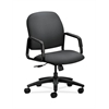 HON Solutions Seating High-Back Chair | Center-Tilt | Fixed Arms | Onyx Fabric