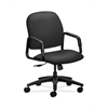 HON Solutions Seating High-Back Chair | Center-Tilt | Fixed Arms | Carbon Fabric