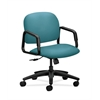 HON Solutions Seating Mid-Back Chair | Center-Tilt | Fixed Arms | Glacier Fabric