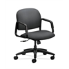HON Solutions Seating Mid-Back Chair | Center-Tilt | Fixed Arms | Onyx Fabric